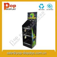 Wholesale Offset Printing Cardboard Floor Display Stands / Display Racks from china suppliers