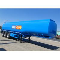 Wholesale 3 Axles 45000 50000 liters Steel Aluminum Oil Delivery Tanker Diesel Fuel Tanker Tank Semi Trailer from china suppliers