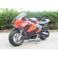 Wholesale Red Mini Gas Dirt Bikes 110cc , Electric Start Small Dirt Bikes Automatic Transmission from china suppliers