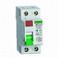 Wholesale Residual Current Circuit Breaker with 2 and 4P Poles from china suppliers