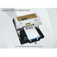 Wholesale A4 Inkjet Small Format UV Flatbed Printer Curable Desktop For Soft Material from china suppliers