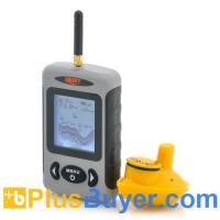 Wholesale Wireless Fish Finder with 2.8 Inch Display and Sonar Sensor from china suppliers
