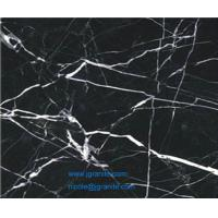 Wholesale Polished Black Nero Marquina Marble Tile from china suppliers