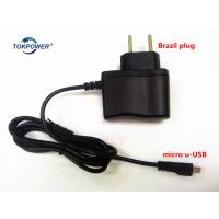 Wholesale Brazil Plug Wall Mount Power Adapter Black White Power Supply 5V 0.5A 1A from china suppliers