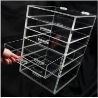 Wholesale Transparent Silker Print Table Top Display Stands , Clear Acrylic Brochure Holders For Promotion from china suppliers