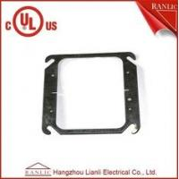 Wholesale Two Gang Electrical Square Outlet Cover Without Screws , 1.0mm to 1.6mm Thickness from china suppliers