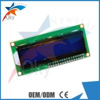 Wholesale LCD 1602  I2C Serial Interface Adapter Module With Blue Light And Red Board Module from china suppliers