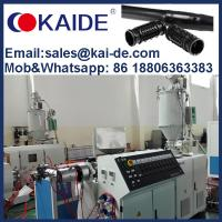 Quality China KAIDE inline round drip irrigation pipe making machine production line extrusion plant equipment manufacturer for sale