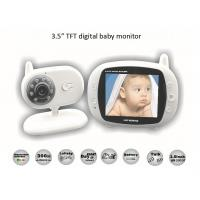 3 5 inch digital wireless audio video baby monitor of item 105497351. Black Bedroom Furniture Sets. Home Design Ideas