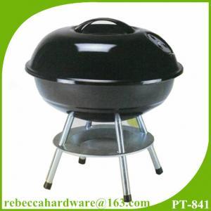 Wholesale Портативный BBQ оборудование 14-дюймовый мини-чайник уголь стол барбекю гриль from china suppliers