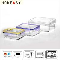 Wholesale Rectangular Glass Food Storage Containers from china suppliers
