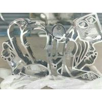 Buy cheap mirror polished stainless steel sculpture for art studio  ,China stainless steel Sculpture supplier from wholesalers