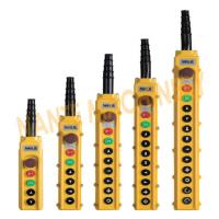 Wholesale Industry 2 - 8 Buttons Remote Pendant Control For CD / MD Hoist , Easy Operating from china suppliers