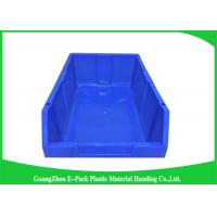 Wholesale Customized Industrial Plastic Storage Containers , Standard Size Stackable Storage Bins from china suppliers