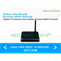Wholesale 1GB DDR3 Ram HD Digital Set Top Box Supports USB 2.0 Software Upgrade from china suppliers