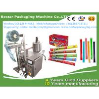 Quality stainless steel high quality ice lollipop packaing machine liquid frutis syrup packing machine bestar packaging machine for sale