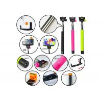Wholesale Extension Handheld Telescopic selfie stick Monopod with Bluetooth for Mobile from china suppliers
