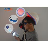 Buy cheap 650nm Gold Laser Hair Regrowth Helmet Medical Devices 50Hz / 60Hz DC12V from wholesalers