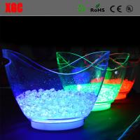 Wholesale Fashion Design KTV/Club LED Colorful Light Ice Bucket from china suppliers