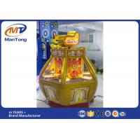 Wholesale Game Center Pushing Coin Puzzle Game Golden Fort Redemption Machine from china suppliers