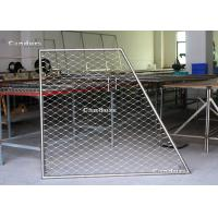Quality Flexible Stainless Steel Cable Mesh Panels For Balustrade Railing for sale