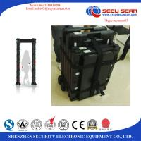Wholesale Wifi 4G Wireless Arched Door Metal Detector Equipment Built In Battery Power Supply from china suppliers