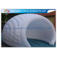 Wholesale Exhibition / Party Nylon Healthy Economic Inflatable Air Tent White Moon Tent from china suppliers