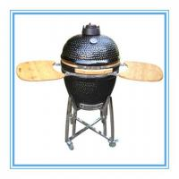 Wholesale Black Gloss 21inch Kamado Charcoal BBQ Grill from china suppliers