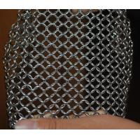 Wholesale 304 Stainless Steel Chainmail Scrubber Kitchen Cast Iron Hardware Cleaner 7 * 7 inch from china suppliers