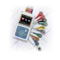 Wholesale Dynamic ECG System 3 Channel Holter ECG System with PC English Software for Family from china suppliers