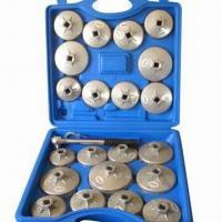 Buy cheap 23-Piece Oil Filter Socket Set, Measures 37x38x11mm from wholesalers