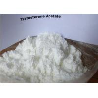 Wholesale Fast Acting Testosterone Acetate , Testosterone Anabolic Steroids For Muscle Gain from china suppliers