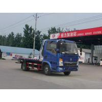 Wholesale SINOTRUCK HOWO Wrecker Tow Truck Deisel Engine Blue And Red Color from china suppliers
