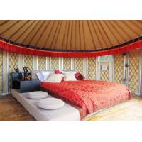 Wholesale 21 Square Meters Mongolian Homes Yurts Tent For Living Waterproof Sun Proof from china suppliers