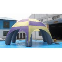 Wholesale Large 26' Inflatable Colorful Inflatable Spider Dome With Strong 6 Legs Frame from china suppliers