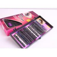 Buy cheap Hand Made Super Soft Imitation Mink Eyelash  C Curl Eyelash Extension For Beauty from wholesalers