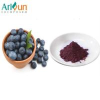Wholesale Dark Purple Natural Organic Freeze Dried Blueberry Powder Anthocyanin Included from china suppliers