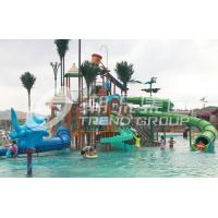Wholesale Summer Outdoor Aqua Park Games FiberglassWater Park Attractions for Theme Park from china suppliers