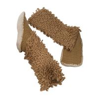 Wholesale Brown Fluffy Slipper Aloe Vera Socks Home Shea Butter Oil Fragrance from china suppliers