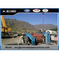 Quality 380V / 50HZ Concrete Tube Forming Machine For Road Culvert Project for sale