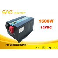 Wholesale Low Frequency Off Grid UPS Grid Tie Solar Inverter 1500w 12v/24vdc To 220vac from china suppliers