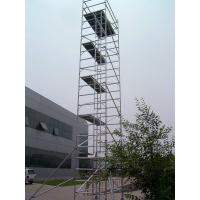 Wholesale OEM and ODM Aluminium Alloy  2kn / ㎡ Ladder Frame Scaffolding with Ring Lock Joints from china suppliers