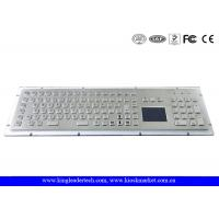 Wholesale IP65 Rugged Kiosk Metal Industrial Keyboard with Touchpad Function Keys And Number Keypad from china suppliers