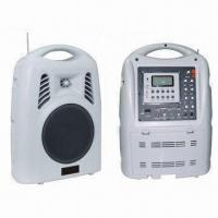Wholesale PA System with Two Wireless Microphones, U-disk/SD Record Function and Dual-channel from china suppliers