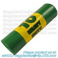 Wholesale Green sacks, seal bags, c-fold bags, bags on roll, roll bags, produce roll, HDPE sacks from china suppliers