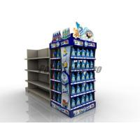 Wholesale Curved Shelf Sustainable End Cap Shelving For Promoting Laundry Detergent from china suppliers