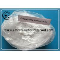 Wholesale Raw Progesterone hemisuccinate CAS 62624-72-0 Pharmaceutical Intermediates from china suppliers