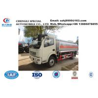 Wholesale HOT SALE!customized Dongfeng duolika 6,000Liters-8,000Liters fuel tank truck Factory sale best price dongfeng refueler from china suppliers
