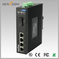 Wholesale 1.2Mpps Fiber Optical Network Switch , Din Rail Installed Outdoor Ethernet Switch from china suppliers