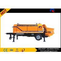 Wholesale 80 Cubic m/h Portable Electric Concrete Pump Outline Dimension 6400x2100x2200 from china suppliers